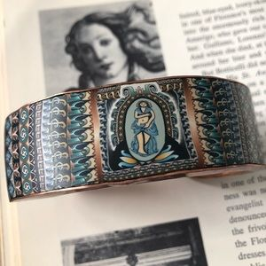 Datura Art Handmade Global Artisans Copper Cuffs